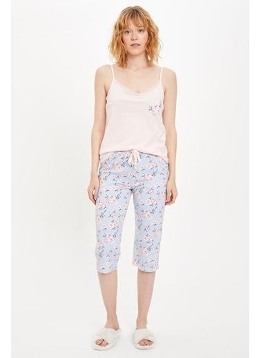 DeFacto Pijama Takım Mavi